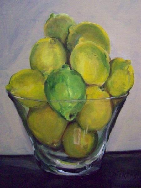 Lemons [2008] by Marlene Dickerson